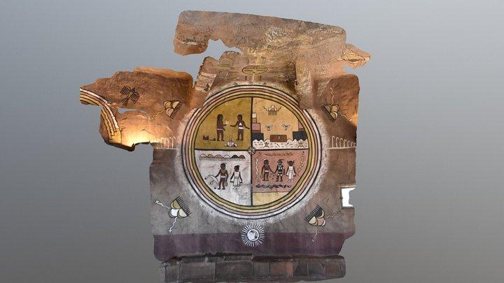Desert View Watchtower Mural