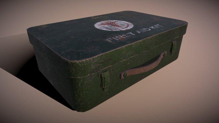 First Aid Kit WW2 3D Model