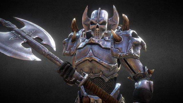 Damnation Armor 3D Model