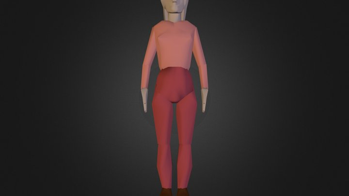 Woman 1.3DS 3D Model