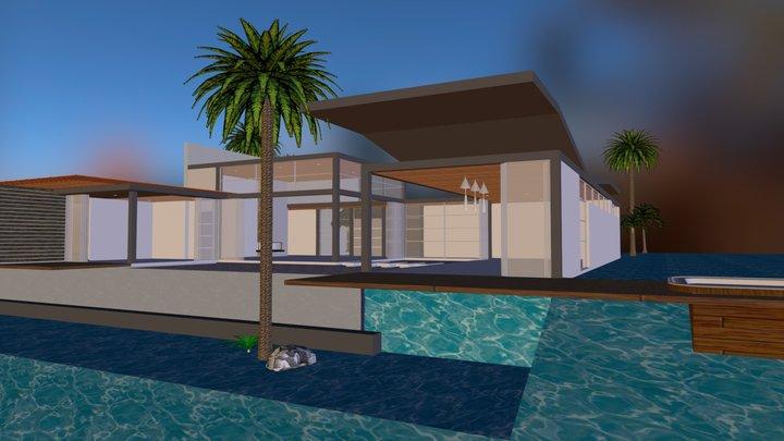 Residencia Metalica 3D Model