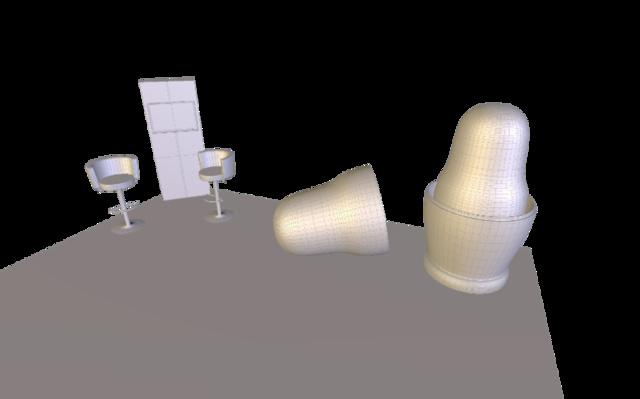 TRA1930 stand v3web2.obj 3D Model