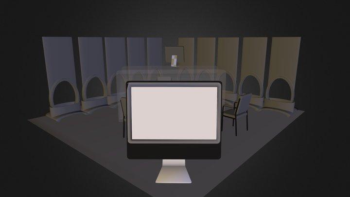 Linear 0001 (Starter ED-C2 Booth).zip 3D Model