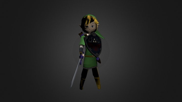 Chibi Link 1 3D Model