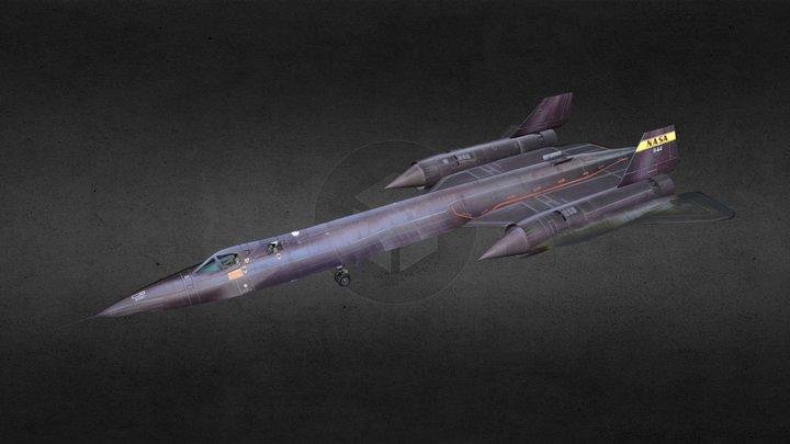 SR-71 Spyplane 3D Model