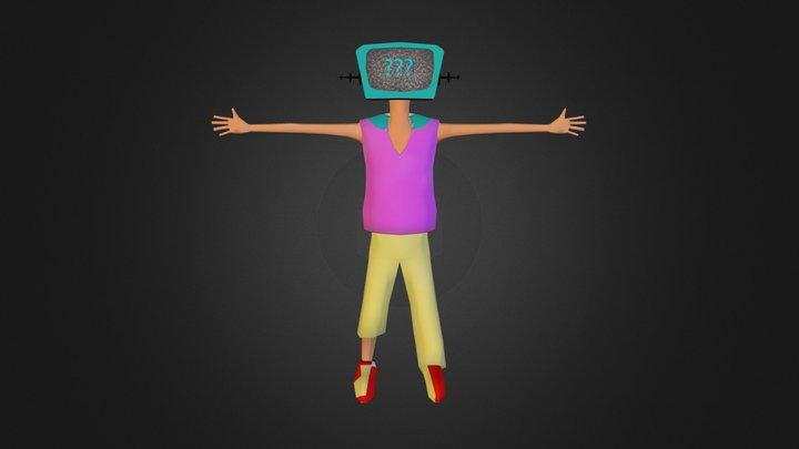 TV_Head.zip 3D Model