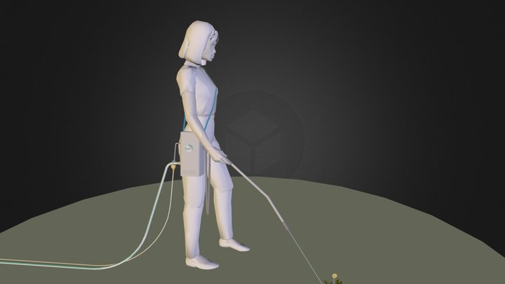 HotShot Kickstarter Project 3D Model