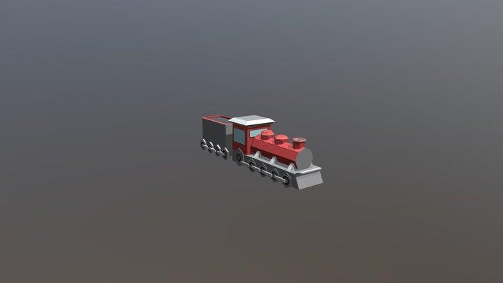 Trem (Presente) 3D Model