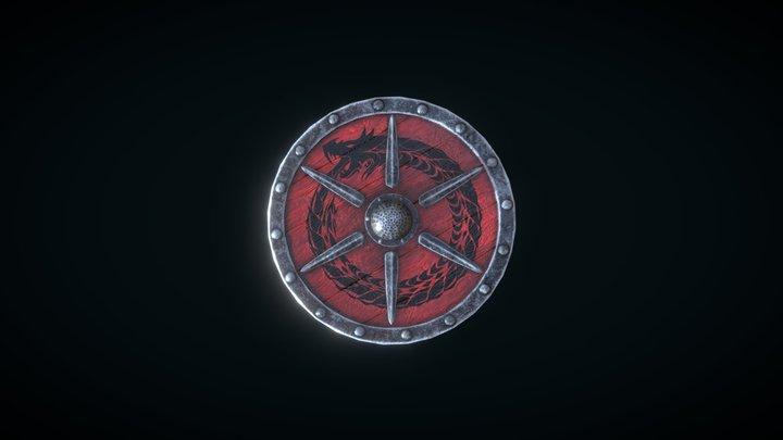 Viking_Shield 3D Model