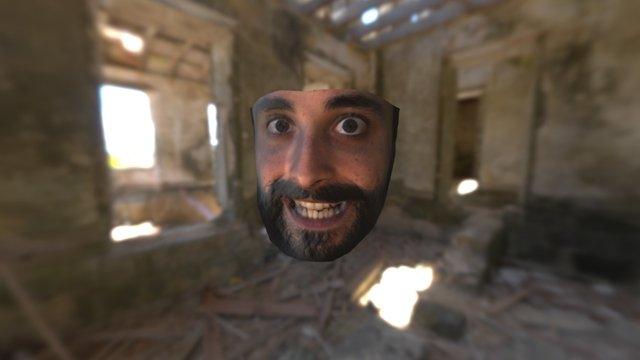 Crazy Boy Face SCANIFY 3D Model