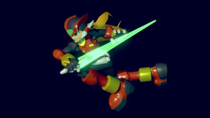 Zero 3D Model