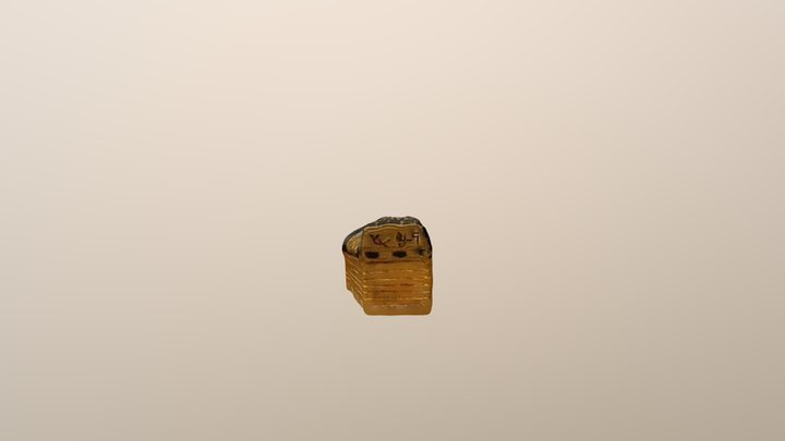 Egyptian Mummy Toy Case 3D Model