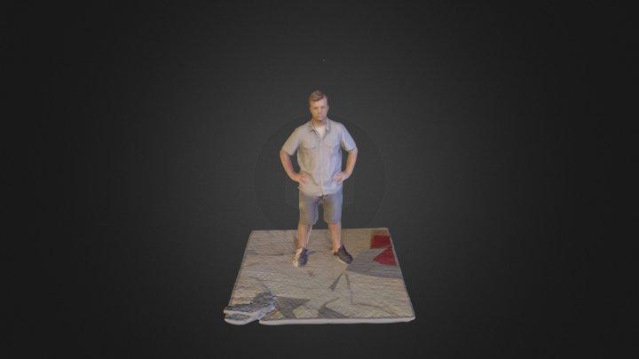 John K 3D Model