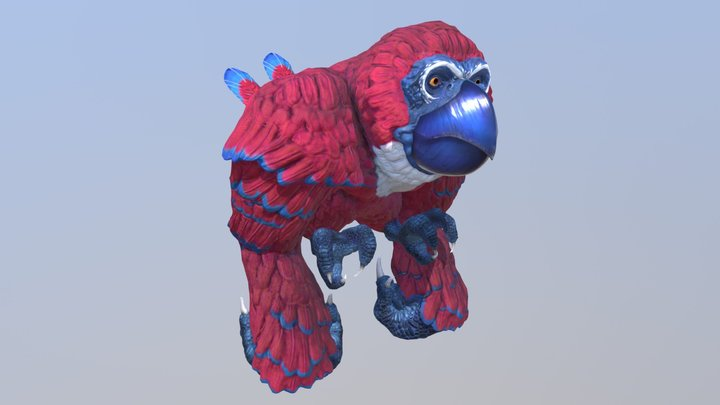King Kaw 3D Model