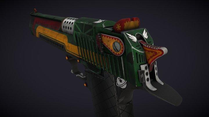 Desert Eagle | Space Fanatic 3D Model