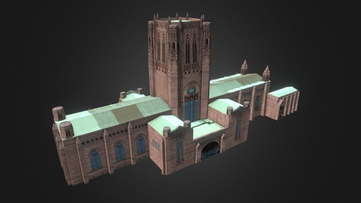 Liverpool Anglican Cathedral 3D Model