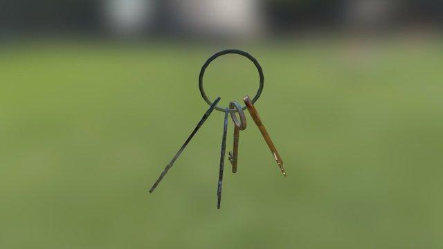 Keys 3D Model