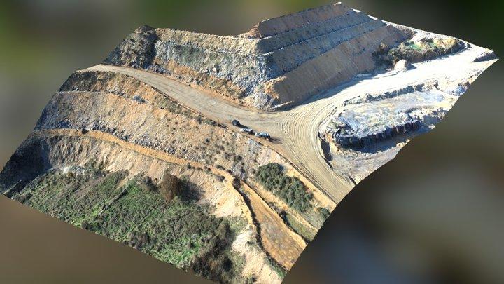 Detalle parcela de Riofrío de Aliste (Zamora) 3D Model