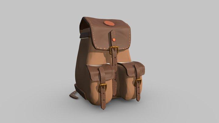 A backpack 3D Model