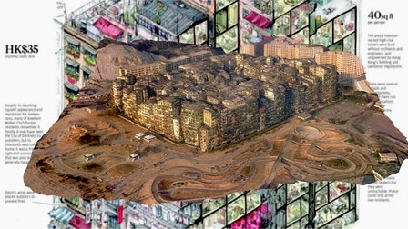 Kowloon Walled City, late 1980s 3D Model