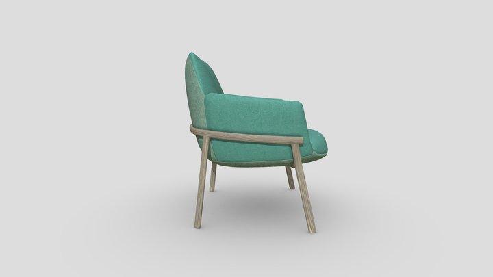 Designer Chair 01c 3D Model