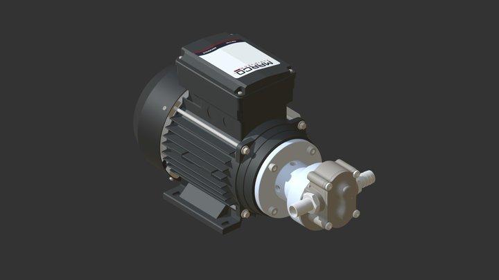 UP6/OIL-AC 3D Model