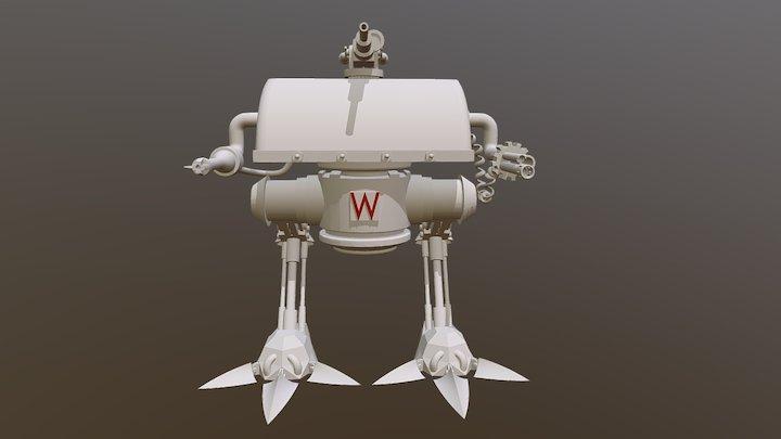 Wonder Mech 3D Model