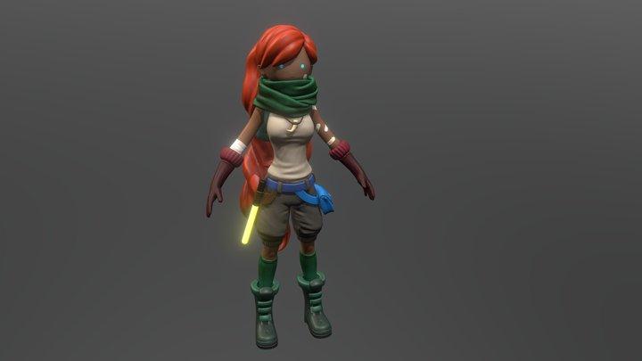 Aisha 3D Model