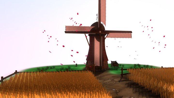 Moulin /  Windmill 3D Model