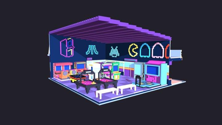 Stranger Things - Palace Arcade 3D Model