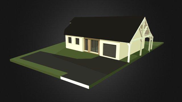 Projet Maison Sculteo 3D Model