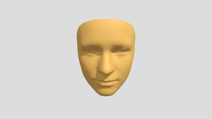 Face Mesh 3D Model