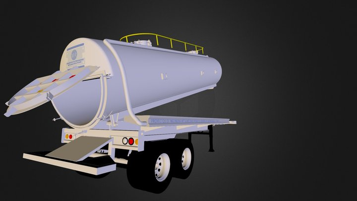 Chupamanchas 130 Barriles 3D Model