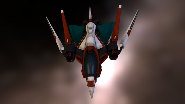 Redshift - Phoenix Class Ship 3D Model