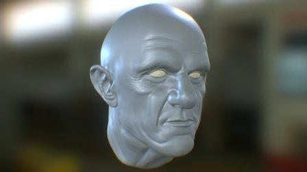 Jonathan Banks likeness 3D Model