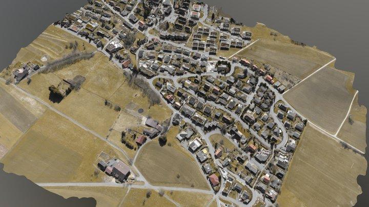 Urban Pix4D cartography demo 3D Model