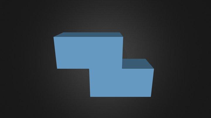 Blue Part 3D Model
