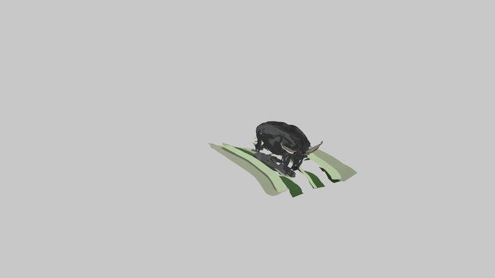 Water buffalo 3D Model