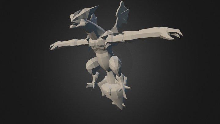 Black Kyurem 3D Model