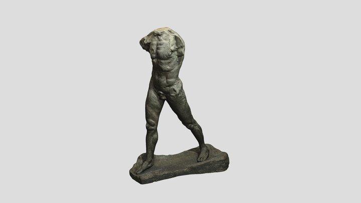 Шагающий человек / Walking Man 3D Model