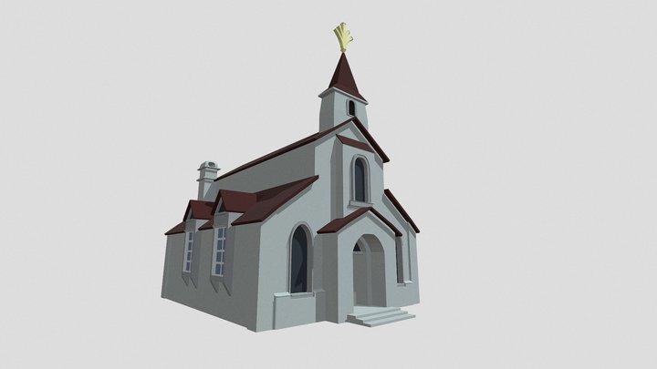 Danmachi - Abandoned Church 3D Model
