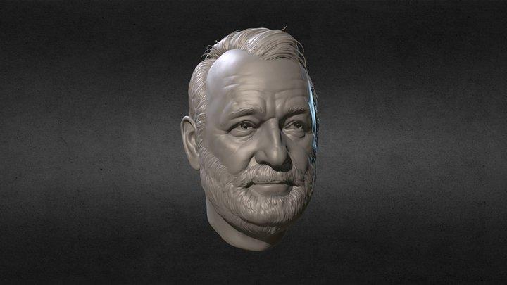 Bill Murray 3D Model