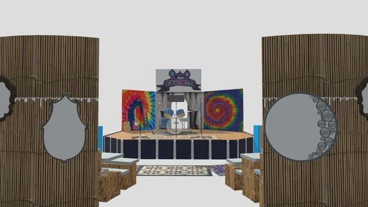 OCF Youth Stage 3D Model