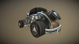 Hot Rod SKULL Livery 3D Model