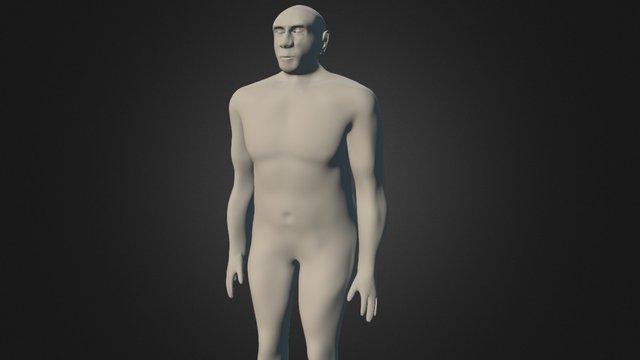 Neanderthal body 3D Model