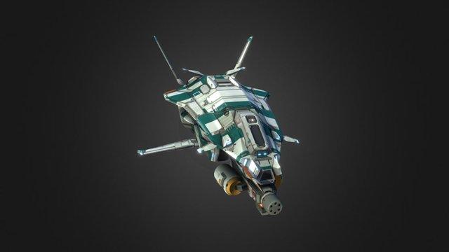 Taiidan Republic Scout 3D Model