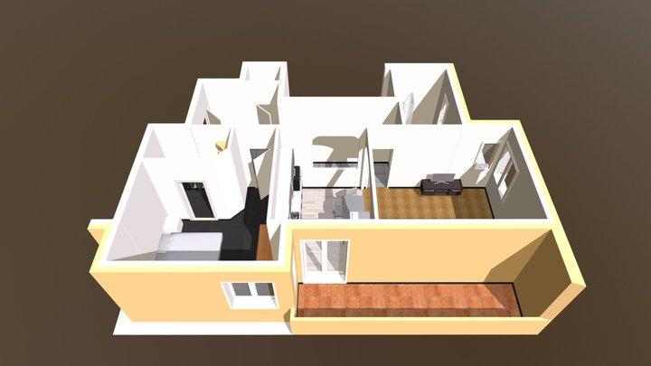 Creto Affitto 3D Model