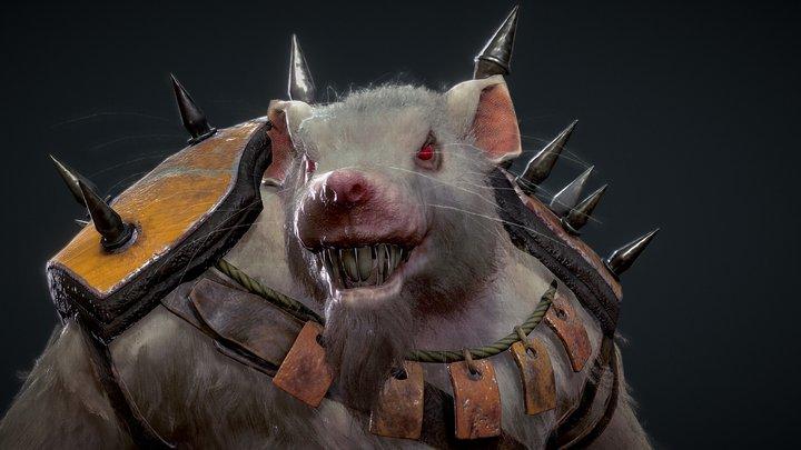 Rat Marauder 3D Model