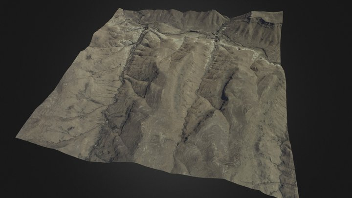 Killmore rampart, South Africa 3D Model
