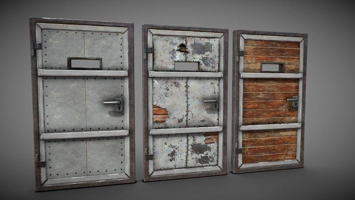 Component Doors 3D Model
